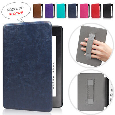 Leather Handle Slim Auto/Sleep Case Cover For Amazon Kindle Paperwhite4 10th2018