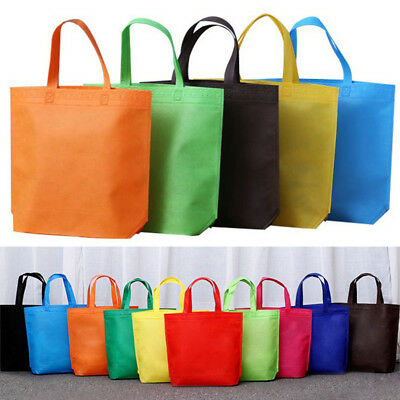 1pc Reusable Not Paper Shopping Bags Tote Bag Eco Friendly Non Woven Bags