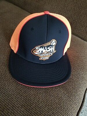 Smash It Sports Hat by Richardson Pro Model Orange/Black - SM/MD New!!