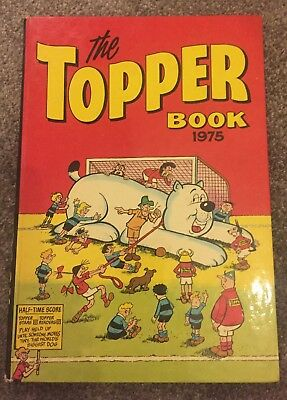 The Topper Book 1975 - Annual - Cartoon - Kids - Good Condition