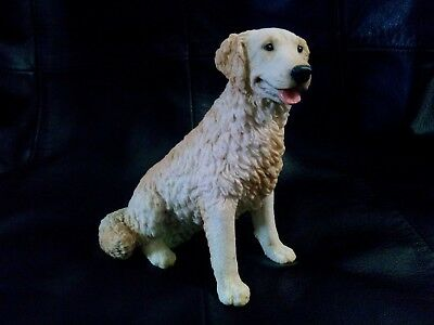 1988 Sitting Golden Labrador CASTAGNA COLLECTION Figurine - Hand Made in Italy