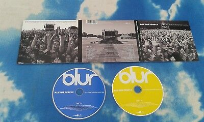 Blur - All The People-Live At Hyde Park 2 Cd Set**cds Near Mint**