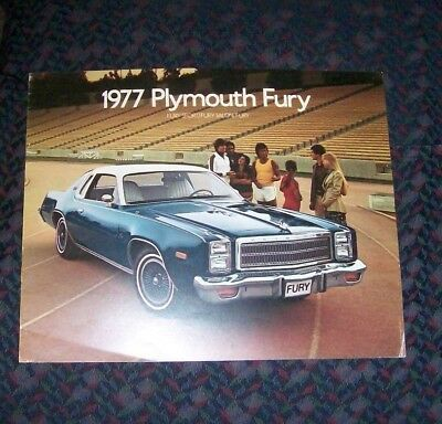 1977 Plymouth Fury Sales Brochure