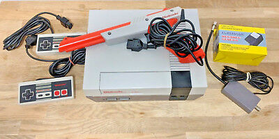 *restored* Original Nintendo Nes Console System Fast Ship New 72Pin