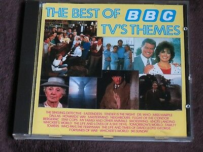 Best of BBC TV's themes CD-Doctor Who/Flight of the Condor/Singing Detective etc