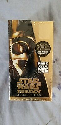 1997 Star Wars Trilogy Special Edition Set (Vhs) [Brand New]