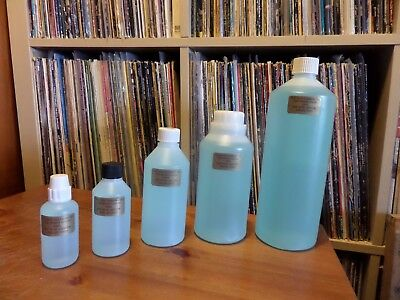 GEL RECORD CLEANER 100ml. INTENSIVE CLEANING FOR HEAVILY SOILED VINYL RECORDS.