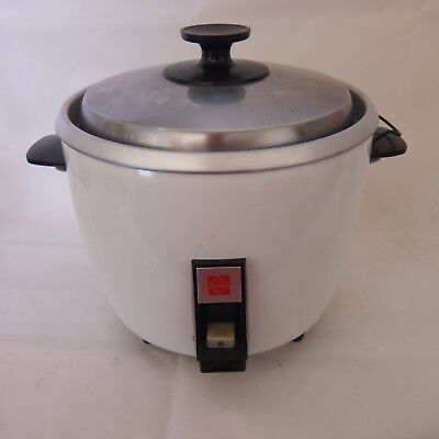 Vintage National Rice Cooker Rice-O-Mat SR-15E Made in Japan 1960s Retro