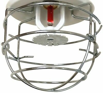"(6 Pack) Fire Sprinkler Head Guard Cage for 1/2"" NPT Recessed Head"
