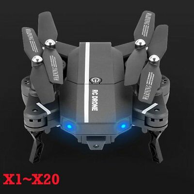 LOT 8807W Foldable With Wifi FPV HD Camera 2.4G 6-Axis RC Quadcopter Drone Toys@