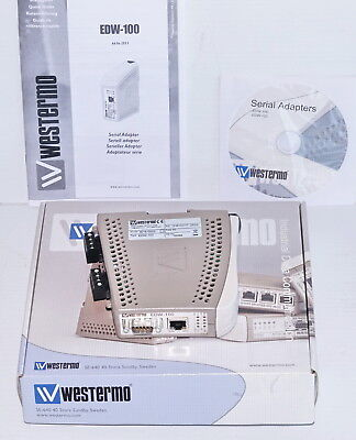 Westermo EDW-100 Serial to Ethernet Adapter *NEW*
