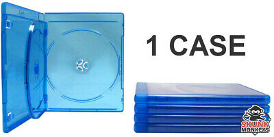 New Empty Blu-Ray DVD Case 12mm 3-Disc Triple W/ LOGO Empty Replacement Cases
