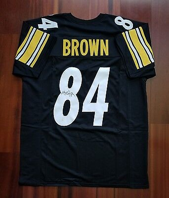 ... shop antonio brown autographed signed jersey pittsburgh steelers jsa  519b4 53811 ... 5aa0e25c2
