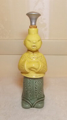 Vintage Ceramic Chinese Laundry Man Water Sprinkler Bottle Sprinkle Plenty