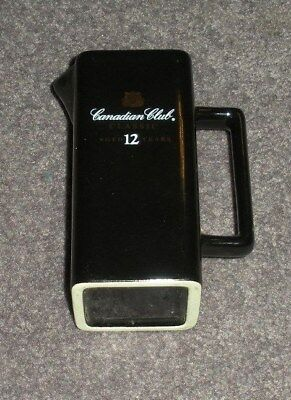 Canadian Club, Classic Aged 12 Years Whiskey, Ceramic Pitcher