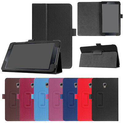 Folding Stand Leather Case Cover For Samsung Galaxy Tab A 8.0 T380 T385 2017