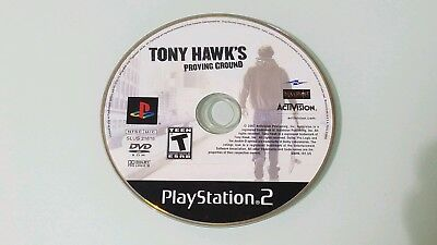 Tony Hawk's: Proving Ground Sony PlayStation 2 PS2 Video Game Disc