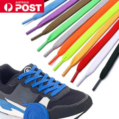 Multicolor Shoes Laces Round Flat Thin Bootlaces Sports Sneaker Shoelace Strings