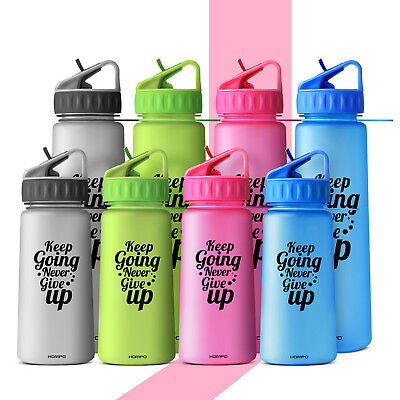 HOMPO Sports Drink Water Bottle BPA-Free Cycling Camping  Sports Drink Bottle AU