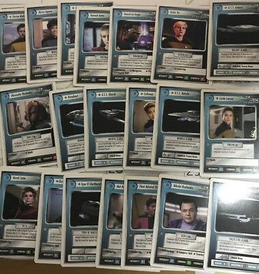 Star Trek The Next Generation TNG Customizable Card Game Lot 1994 Magic mtg
