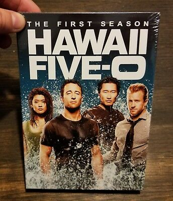 Hawaii Five-O ~ Complete 1st First Season 1 One BRAND NEW SEALED 6-DISC DVD SET