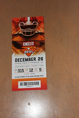 2018 Cheez It Bowl Ticket Stub Mint Cal Bears Tcu Horned Frogs 12/26/18
