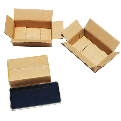20Pcs 3-layer Corrugated Cardboard Express Storage Shipping Box Container Wide