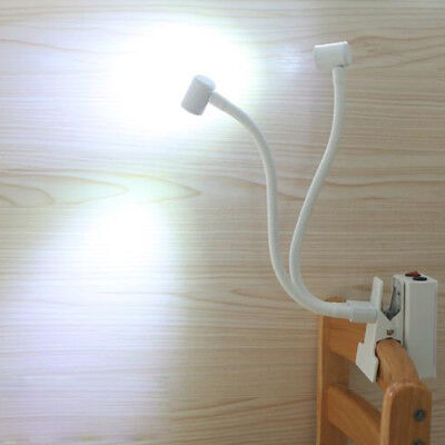 6W LED Picture Clip Clamp Light Battery-Powered Rechargeable Lamp Button Cabinet
