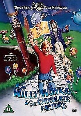 Willy Wonka & The Chocolate Factory DVD NEW dvd (1000085236)