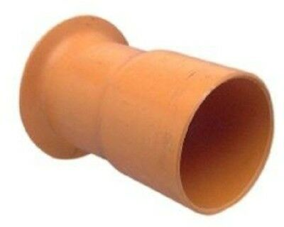 Clipsal CONDUIT PVC BELL MOUTH COUPLING Electric Orange*AUS Brand-100mm Or 150mm