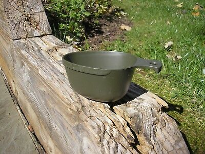 "Genuine Swedish Army Plastic Mess Kit Cup or ""Kasa"" - New Old Stock!"