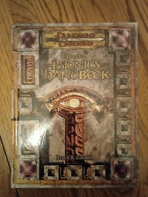 Expanded Psionics Handbook Cordell, Bruce R. Dungeons & Dragons D&D supplement