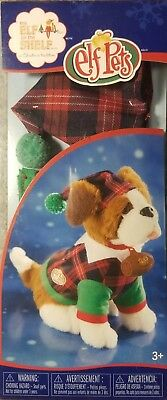 Elf on the Shelf Outfit for the SAINT BERNARD DOG ELF PETS NEW IN SEALED BOX