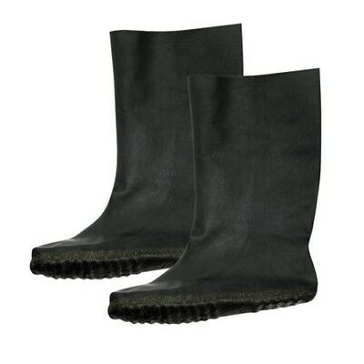 Bike It Impermeable Moldeada Goma Motocicleta Fundas Botas Negro