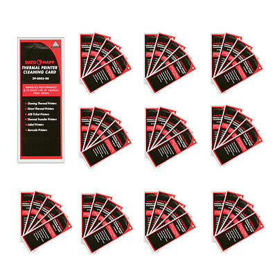 Pkg of 50 Thermal Printer Cleaning Cards