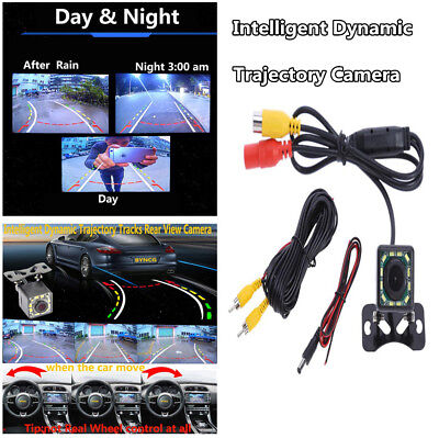 HD 12LED Car Rearview Reverse Parking Camera Waterproof CCD NTSC Night Vision