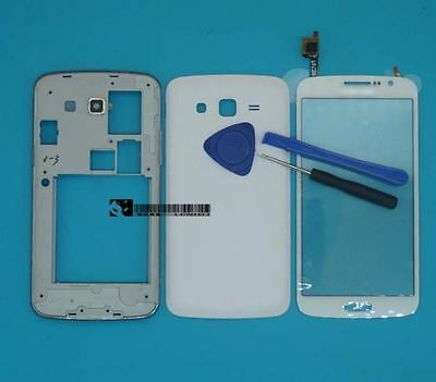 For Samsung Galaxy Grand 2 II G7102 White Housing Cover Touch Screen Digitizer