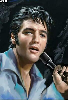 """5D Diamond Painting Full Drill square/ round variations """"Elvis Presley"""""""