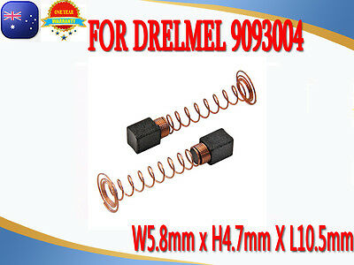 Carbon Brushes For Dremel 90930-04 100, 200, 275, 285, 300, 395 rotary tool AU