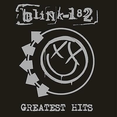 Blink-182 Greatest Hits limited edition CLEAR vinyl 2 LP g/f sleeve NEW/SEALED