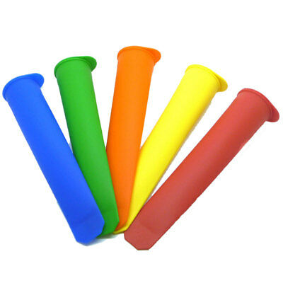 Silicone Ice Pop Push Up Popsicle Stick Ice Cream Jelly Lolly Maker Mould Mold