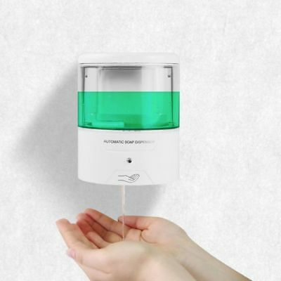 Best 600ml Automatic Touchless Countertop Liquid Soap Dispenser with IR Sensor