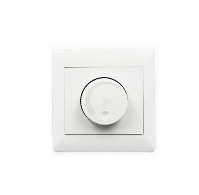 10A 220V Adjustment Ceiling Fan Speed Control Switch Wall Button Dimmer OL