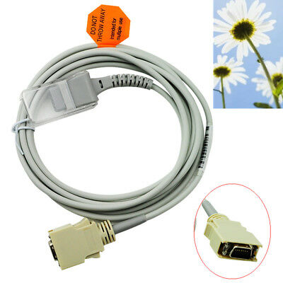 Fit for Masimo 14pins SpO2 Sensor Extension Adapter Cable /Line Medical