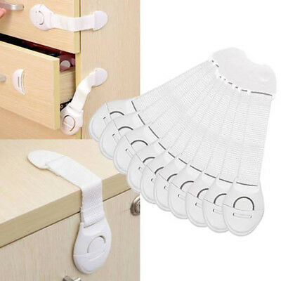 20 PCS Baby Child Kid Box Drawer Cupboard Cabinet Wardrobe Door Safe Safety Lock