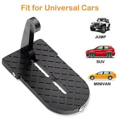 Aluminum Alloy Heavy Duty Folding Ladder Foot Pedals Easy Access to Car Rooftop