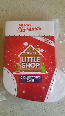 Coles Little Shop Christmas Edition Collectors Case Brand new unopened