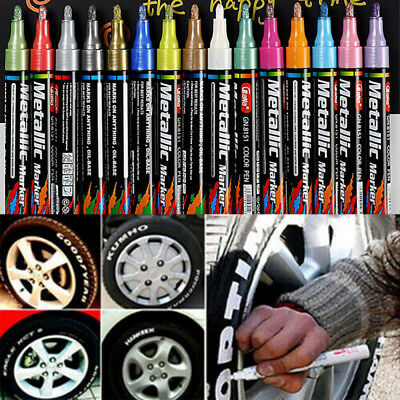 Wood Glass Rubber Permanent Tyre Tyre Marker Paint Creative Marker Oil Pen