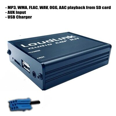 Lancia Thesis Loudlink FLAC Mp3 USB AUX iPhone Android adapter CD Changer