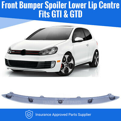 Vw Golf Mk6 Gti/Gtd 2009-2012 Front Bumper Spoiler Lower Lip Centre High Quality